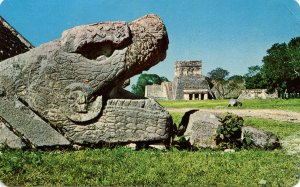 Mexico - Yucatan, Chichen Itza. Plumed Serpent, Temple of the Jaguar