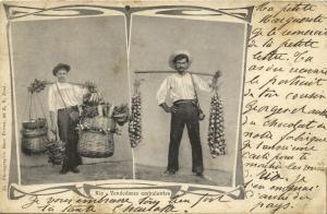 brazil, RIO DE JANEIRO, Vendedores Ambulantes, Street Sellers (1899)