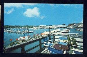 Barnstable, Massachusetts/MA Postcard, Harbor Scene, Cape Cod