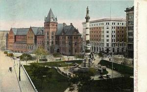 NY, Buffalo, New York, Lafayette Square, Hugh C. Leighton  No. 831