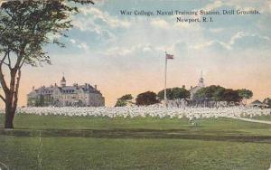 War College, Naval Training Station, Drill Grounds, Newport, Rhode Island, 00...
