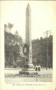 Paulus Hook Monument Jersey City NJ Unused