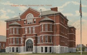 PETERBOROUGH , Ontario , 1921 ; Collegiate Institute