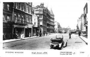 Bygone Windsor, High Street c1914 vintage auto car