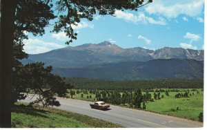 US    PC3985 LONG'S PEAK, ROCKY MOUNTAIN NATIONAL PARK, COLORADO