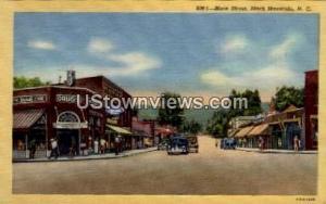 Main Street Black Mountain NC Unused