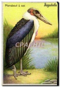 A picture Marabou bird Bird Bag Aiguebelle