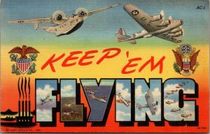 San Jose CA~People From All Over the World Work Here~Keep 'Em Flying~WWII 1942