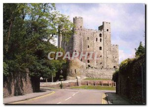 Modern Postcard the castle Rochester one of the finest examples of Norman mil...