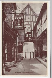 Worcestershire; Evesham, Norman Gateway PPC, Unposted, Ad For National Savings