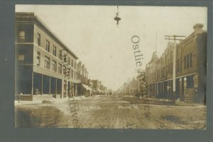 Miles City MONTANA RPPC 1909 MAIN STREET Stores nr Forsyth Terry Kinsey Angela