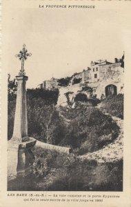 LES BAUX, France, 1910-30s ; Le Val d'Enter #2