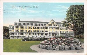 Sinclair Hotel, Bethlehem, New Hampshire, Early Postcard, Used in 1927