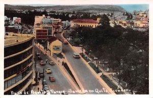 Agesto Parque Quito Ecuador, Republica del Ecuador Unused