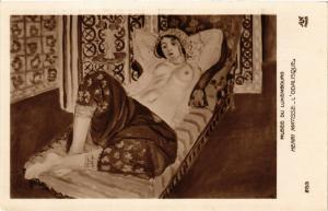 CPA MUSEE DU LUXEMBOURG 253 HENRI MATISSE L'Odalisque (562318)