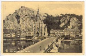 Pont, Citadelle Et Eglise, Dinant (Namur), Belgium, PU-1906