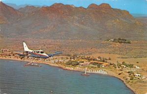 Sonora Mexico Postcard Tarjeta Postal Hotel Playa de Cortes Sonora