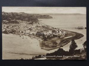 Devon TEIGNMOUTH from Torquay Road c1930 by Frith / Morton Woolley of Teignmouth