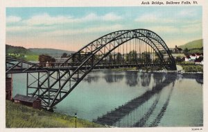 BELLOWS FALLS, Vermont, 1930-1940's; Arch Bridge