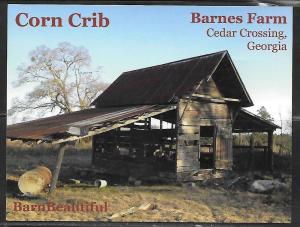 Georgia, Cedar Crossing, Barnes Farm, Corn Crib, unused