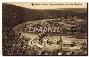 Postcard Modern Semois Bohan Panorama Road to High Rivieres