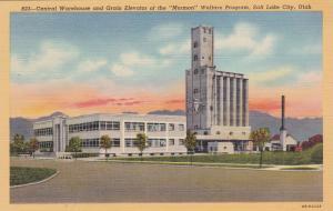 SALT LAKE CITY , Utah , 30-40s ; Central Warehouse of Mormon Welfare Program