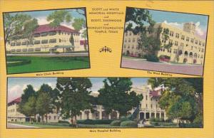 Texas Temple Scott and White Memorial Hospitals Multi View 1953
