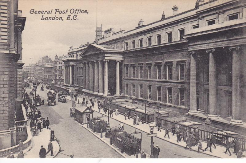 General Post Office, London, England, UK, 1900-1910s