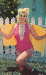 PIN-UP; red swim suit , 1950-60s