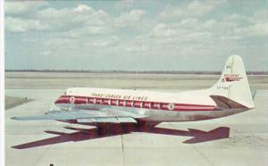 Trans-Canada Air Lines Viscount At Windsor Airport Ontario Canada