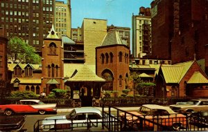 New York City Little Church Around The Corner 1969