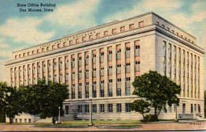 Iowa Des Moines State Office Building Curteich