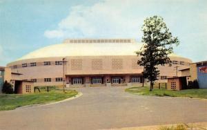 Little Rock Arkansas 1960s Postcard T.H. Barton Sports Coliseum