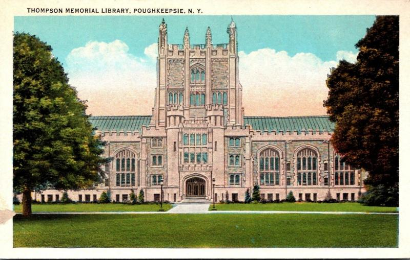 Thompson Memorial Library Poughkeepsie New York