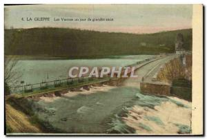 Old Postcard The Gileppe The Fountains Vannes A Day