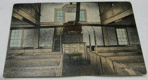 Interior of the Old Church, Grand Pre, N.S. Vintage Postcard 1907-1914 Unposted