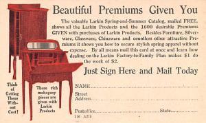 Publications Advertising Old Vintage Antique Post Card Larkin Company Buffalo...