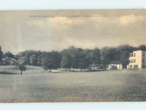 1920's HOSPITAL Cassadaga In Stockton - Chautauqua County Near Dunkirk NY W3348