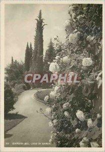 Postcard Modern Giardini sul Lago di Garda Italia