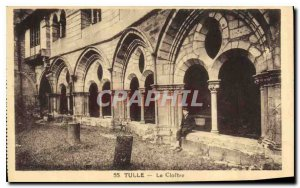Old Postcard Tulle the Cloitre