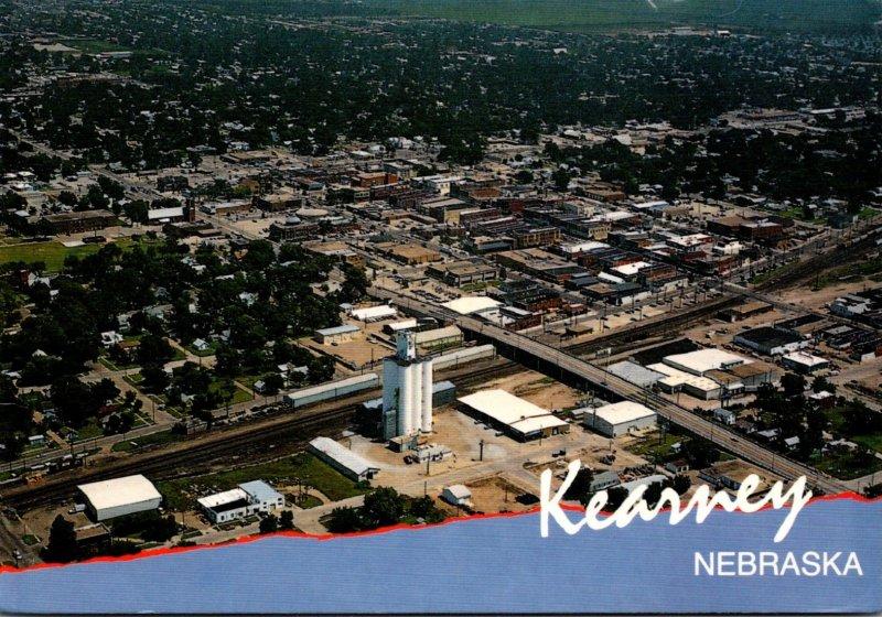 Nebraska Kearney Aerial View 1993