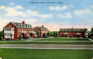 KS - Fort Riley. Carpenter Court