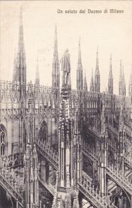 Un Saluto Dal Duomo Di Milano, MILANO (Lombardy), Italy, 1900-1910s