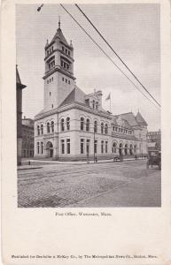 WORCESTER, Massachusetts, 1901-07; Post Office