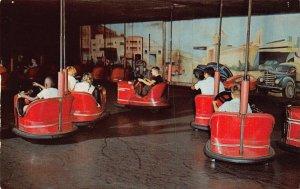 LPS12 CLEVELAND Ohio Euclid Beach Park Amusement Park Dodgem Ride Postcard