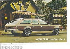 AMC Hornet Sportabout-Vintage Post Card