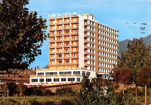 Spain Old Vintage Antique Post Card Hotel Los Patos Benalmadena Postal Used U...