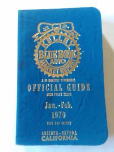 Kelley Blue Book Auto Market Report Guide Jan-Feb 1970 AZ-NV-CA edition