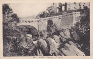 CORTE .- Pont sur le Tavignano , France , 1900-10s