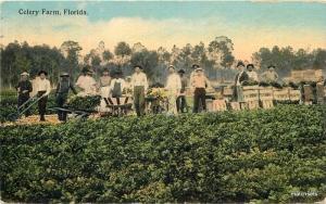 1919 Celery Farm Artist impression postcard 5124